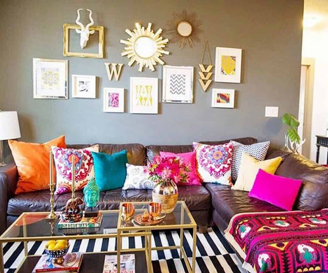 Eclectic Decorating Accessories