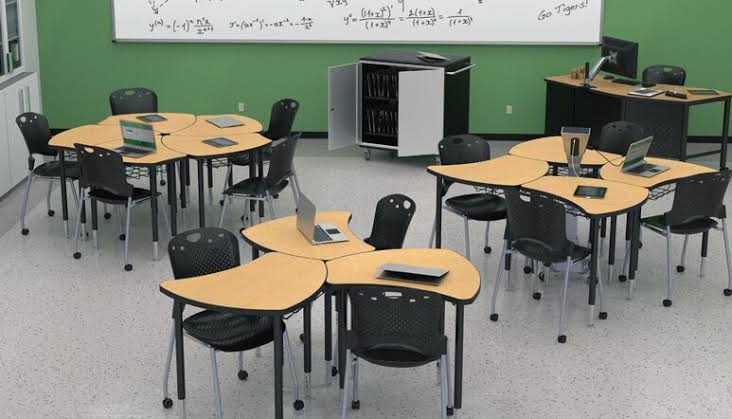 Collaborative Student Desks ~ Effective learning through collaborative classroom
