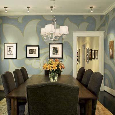 Color Coordinated Dining Room