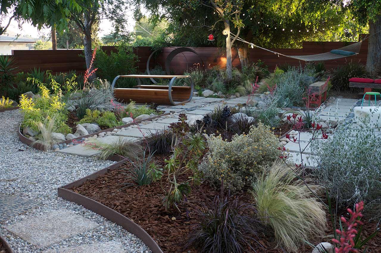 Grey Water Garden