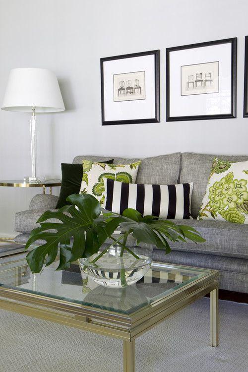 Leaf Green Living Room
