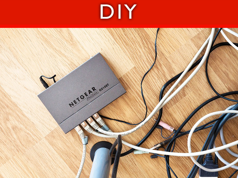 DIY: Hide the Ugly Stuff in Your Home