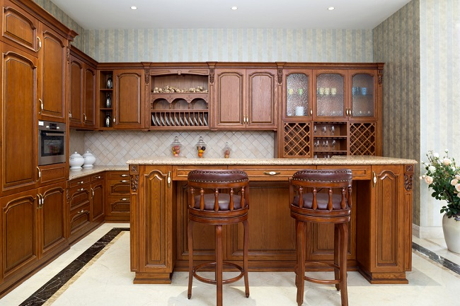 Country Kitchens The Compact Traditional Kitchen My