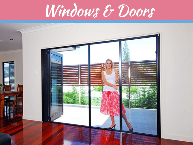 Stay Away from Conventional Doors with Flyscreen Doors