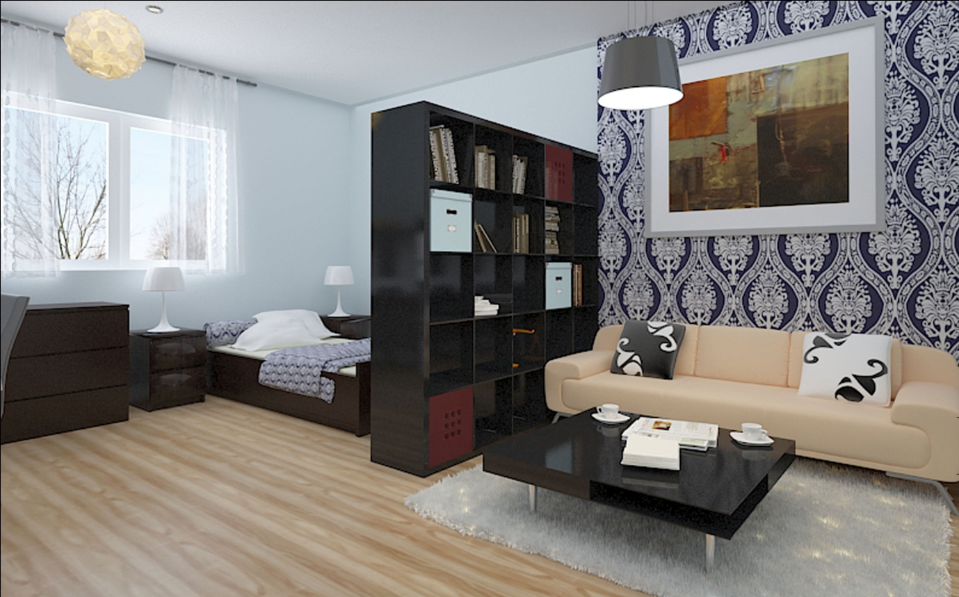 Simple Small Studio Apartment With Studio Apartment Design On Home