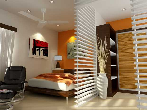 Graceful Small Bedroom Interior Designs Created To Enlargen Your Space
