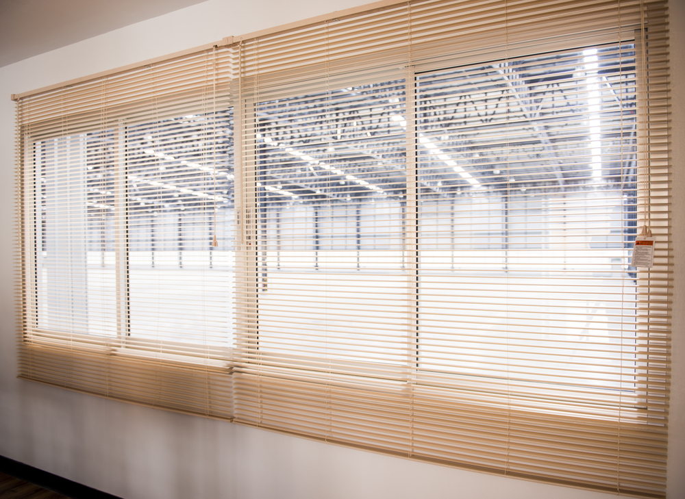Window Blinds For Garage