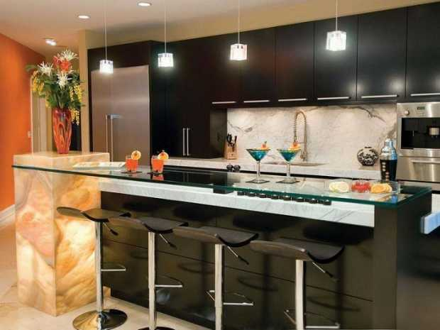 Selection of Countertops for the Kitchen