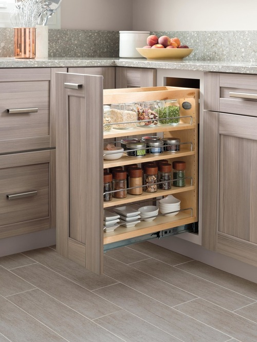 Traditional Pantry and Cabinet Organizers