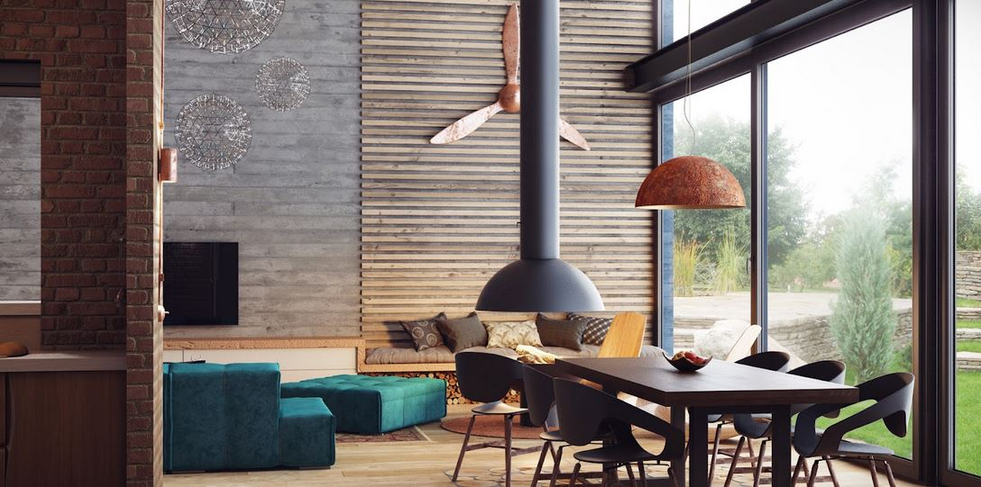 Industrial Loft Interiors