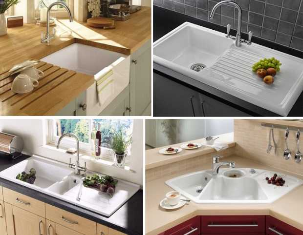 Ceramic Kitchen Sinks New