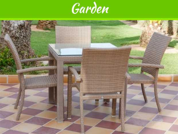 Rattan Garden Furniture Always Striking And Convenient