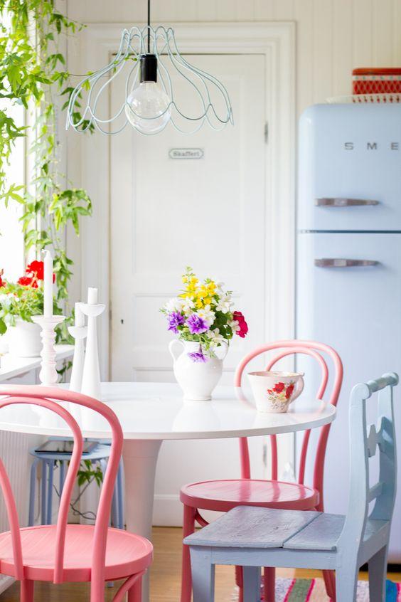 vintage feel kitchen