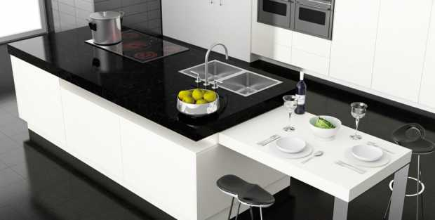 Compac Azabache Kitchen Worktops