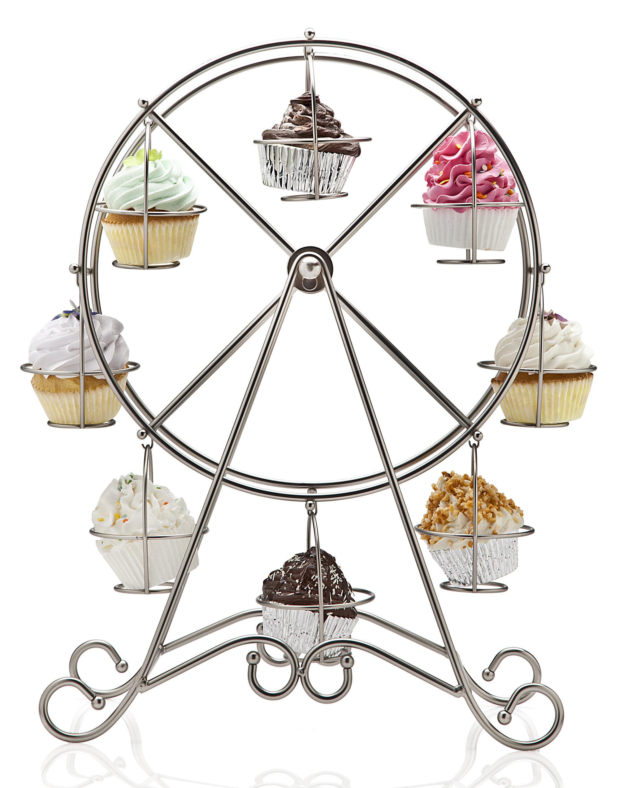 Cake Pedestal As A Kitchen Organizer