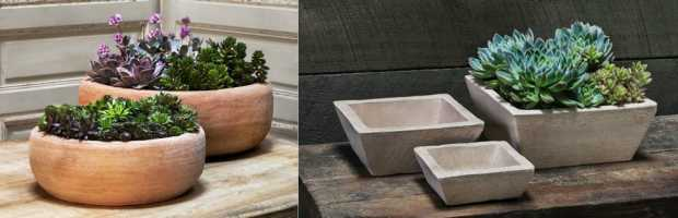 Campania Containers and Planters