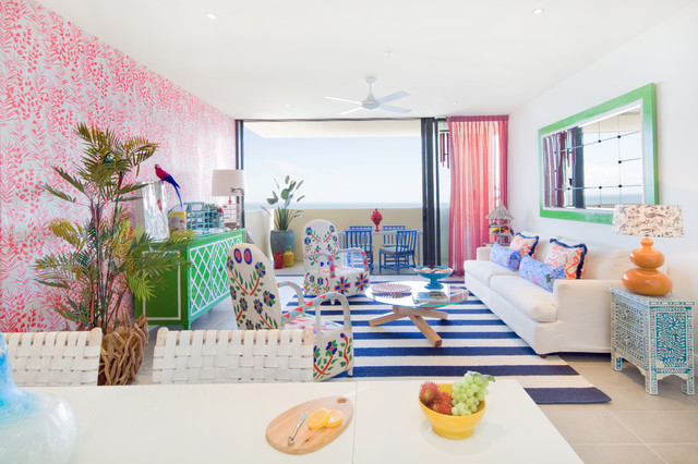 Delightful Colourful Living Room