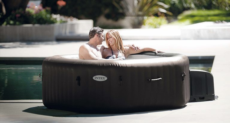 enhance your enjoyment placement pointers for your new hot tub my decorative. Black Bedroom Furniture Sets. Home Design Ideas