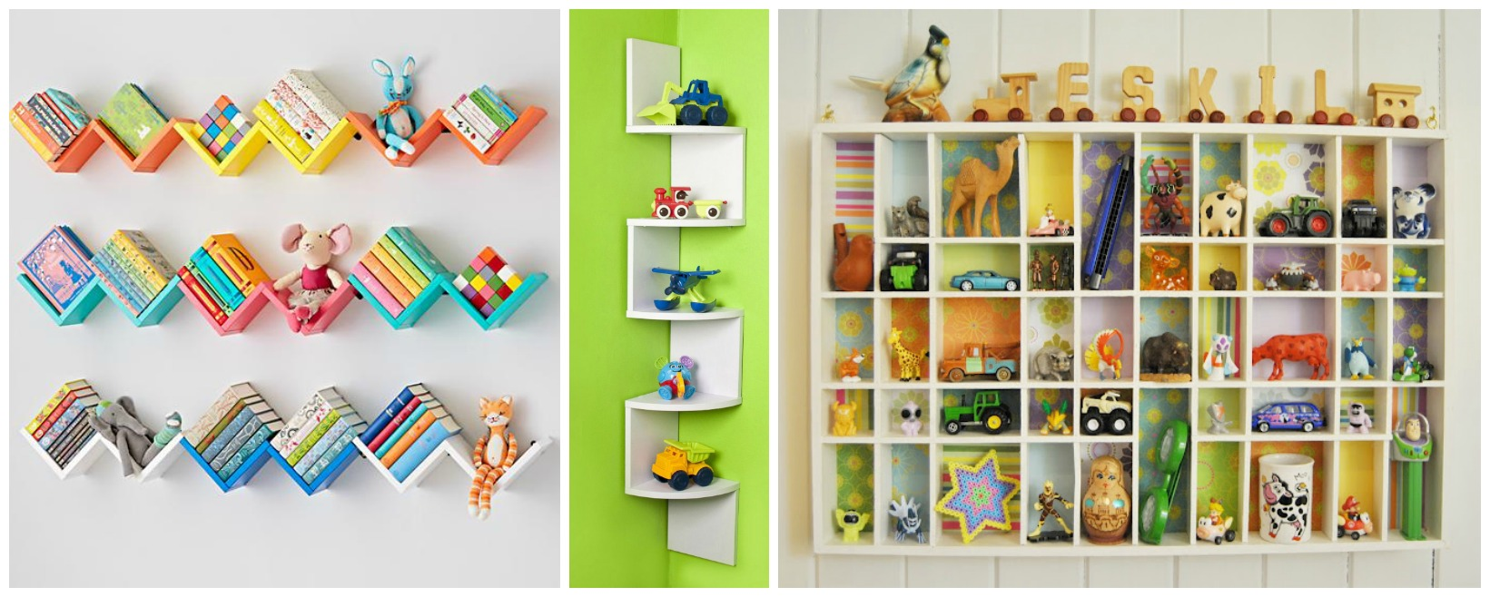 Wall Decor Ideas: Beautiful Shelves Designs for Kids\u0027 Room | My ...