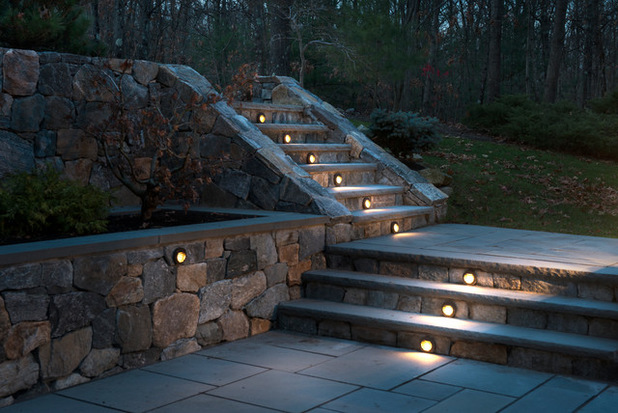 Effective Stair Riser Lights Several Ideas For Properly Lighting Your Patio  My Decorative