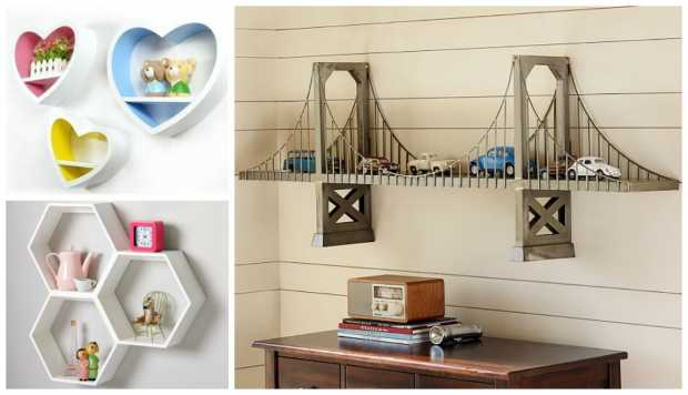 Themed Display Shelves