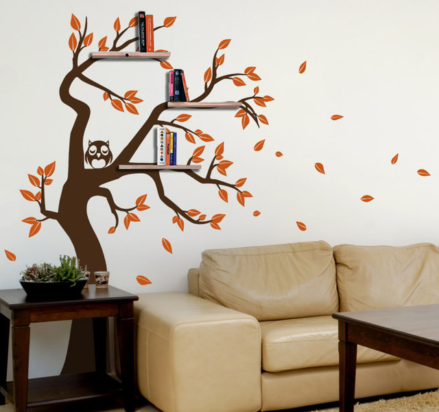 My Decorative Tree Shelf