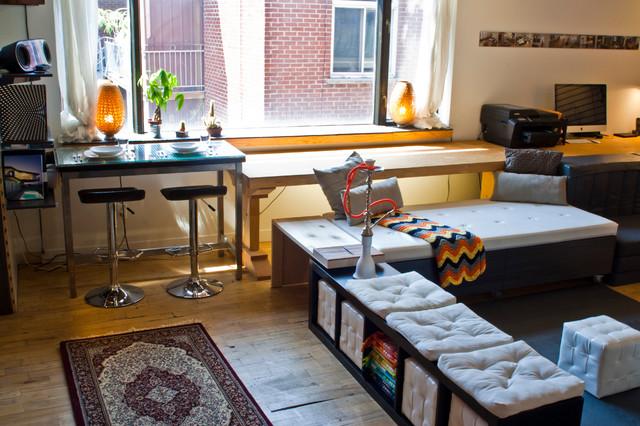 Studio Apartment Storage
