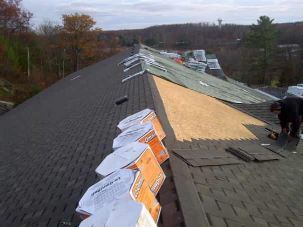 ALPS Roofing Shingling