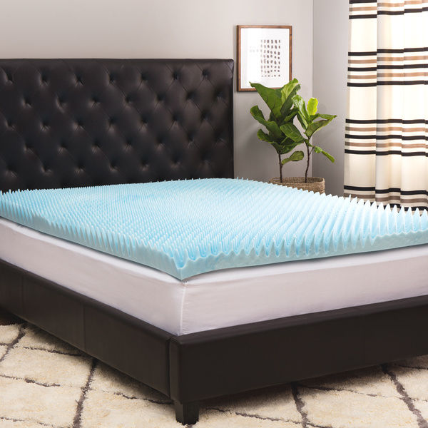 Gel Memory Foam Mattress and Flannel Sheets