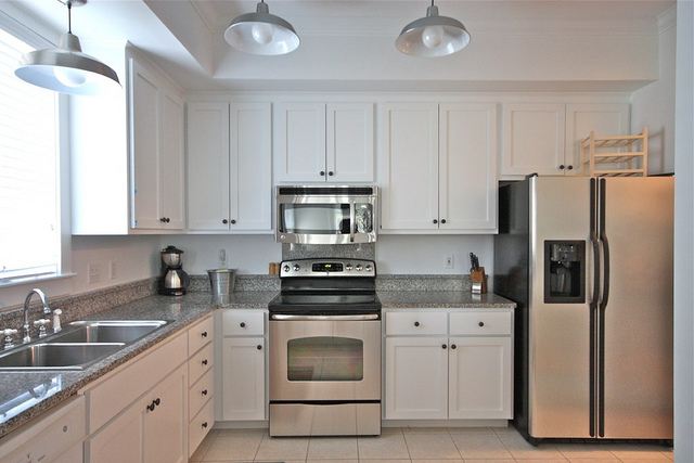 Neutral Colors Kitchen Cabinets