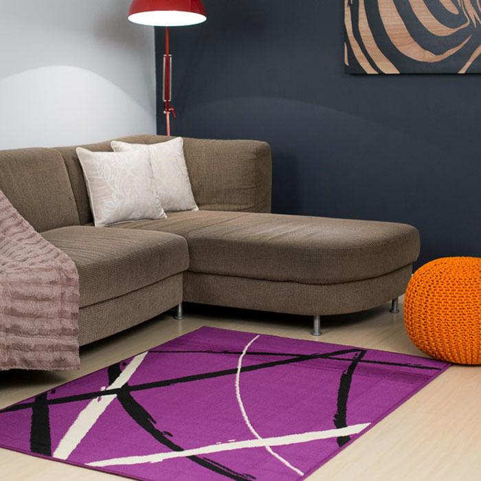 Modern Purple Rugs