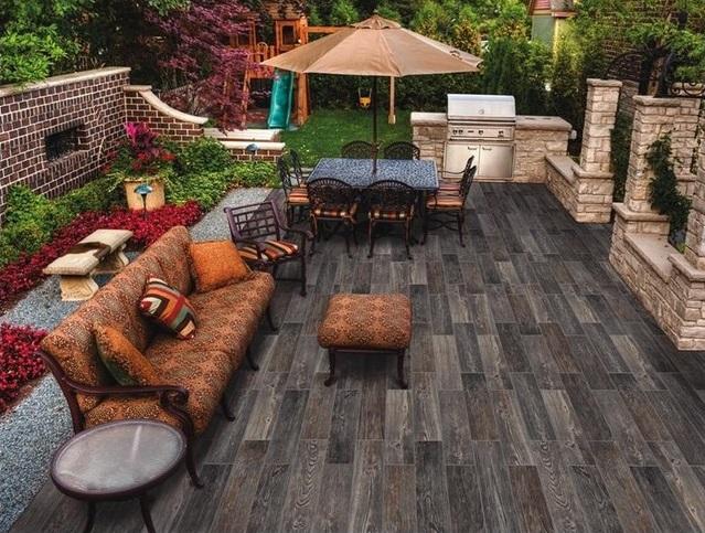 Outdoor Wood Tiles