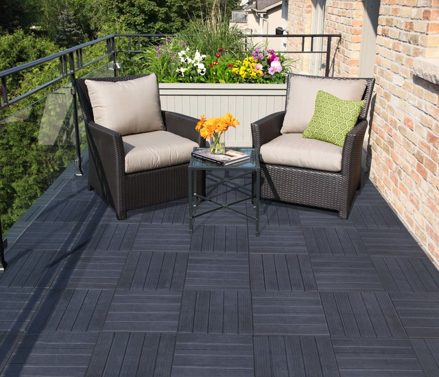 Rubber Outdoor Tiles