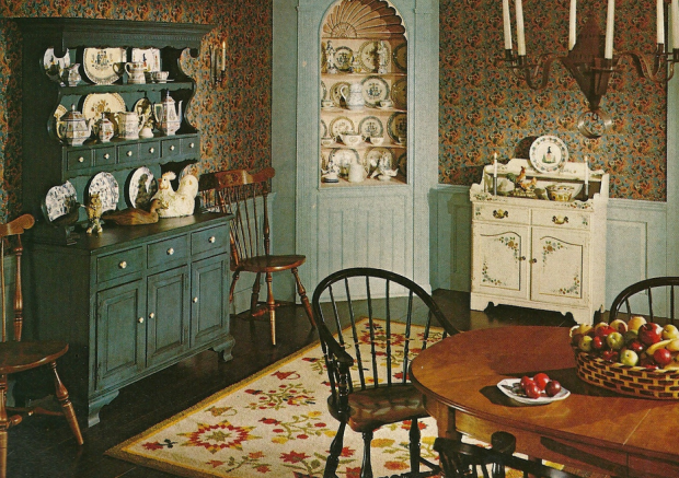 Vintage Colors for Kitchen