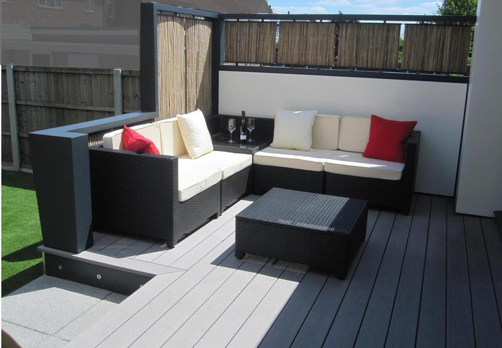 How To Prepare Your Wood Deck For Summer | My Decorative on Decking Designs For Small Gardens id=52868