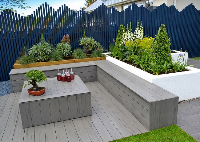 Silver Composite Decking
