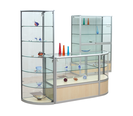 Glass Display Units