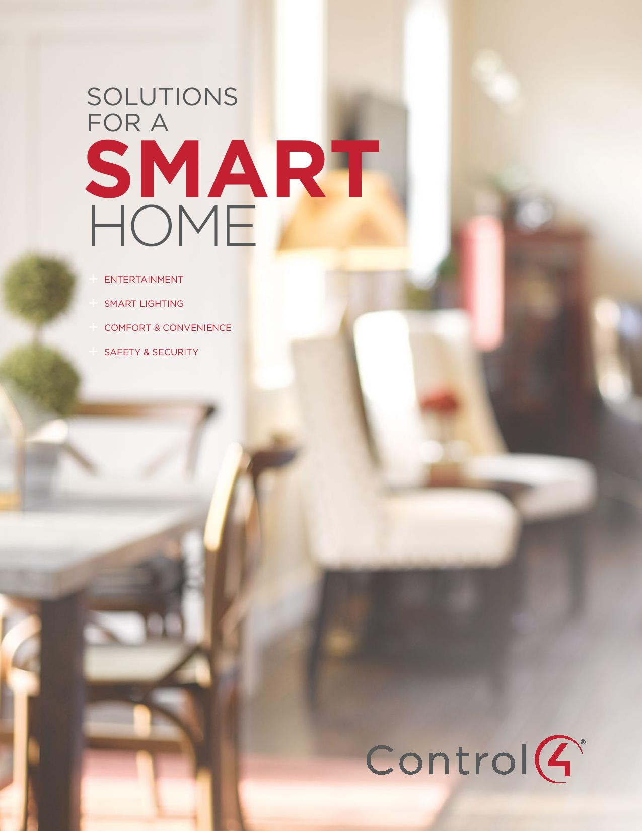 Smart Home Solutions Brochure