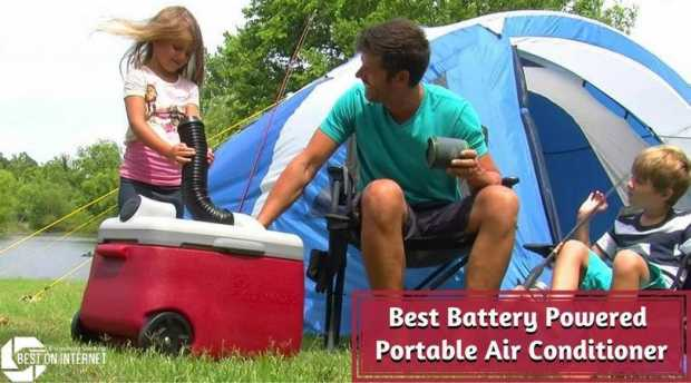 Best Battery Powered Portable Air Conditioner For Camping Or Traveling