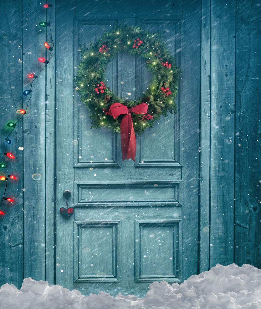 Bow Wreath Home Decor