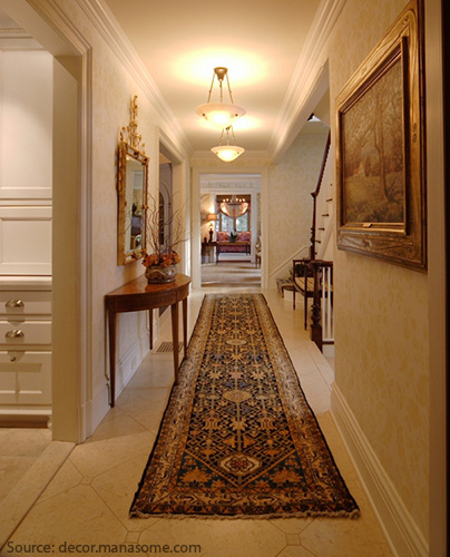 Decorated Beautifully Hallway