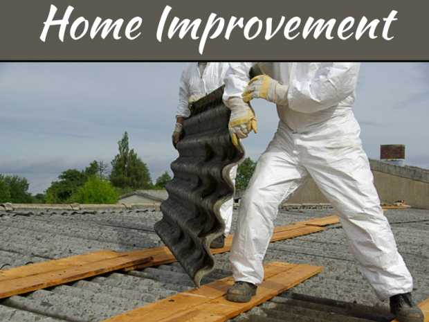 How to Safely Remove the Small Structures Filled With Asbestos from Your Property