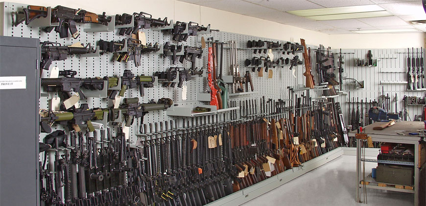 Top 5 Reasons To Have Weapon Storage
