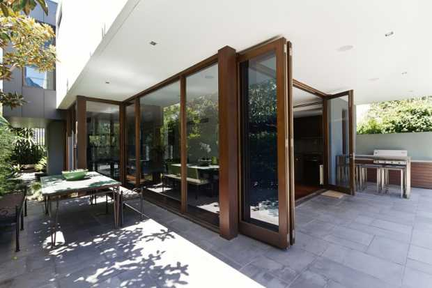 Bi Fold Doors with Blinds