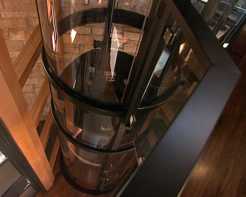 Glass Passenger Lift