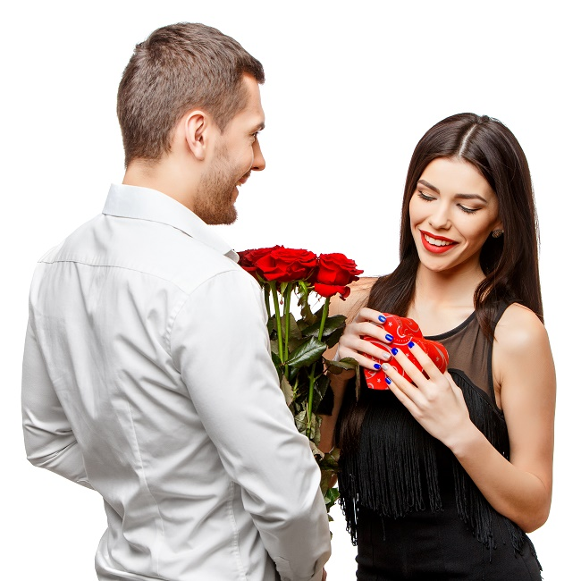 Valentine's Day with Flowers