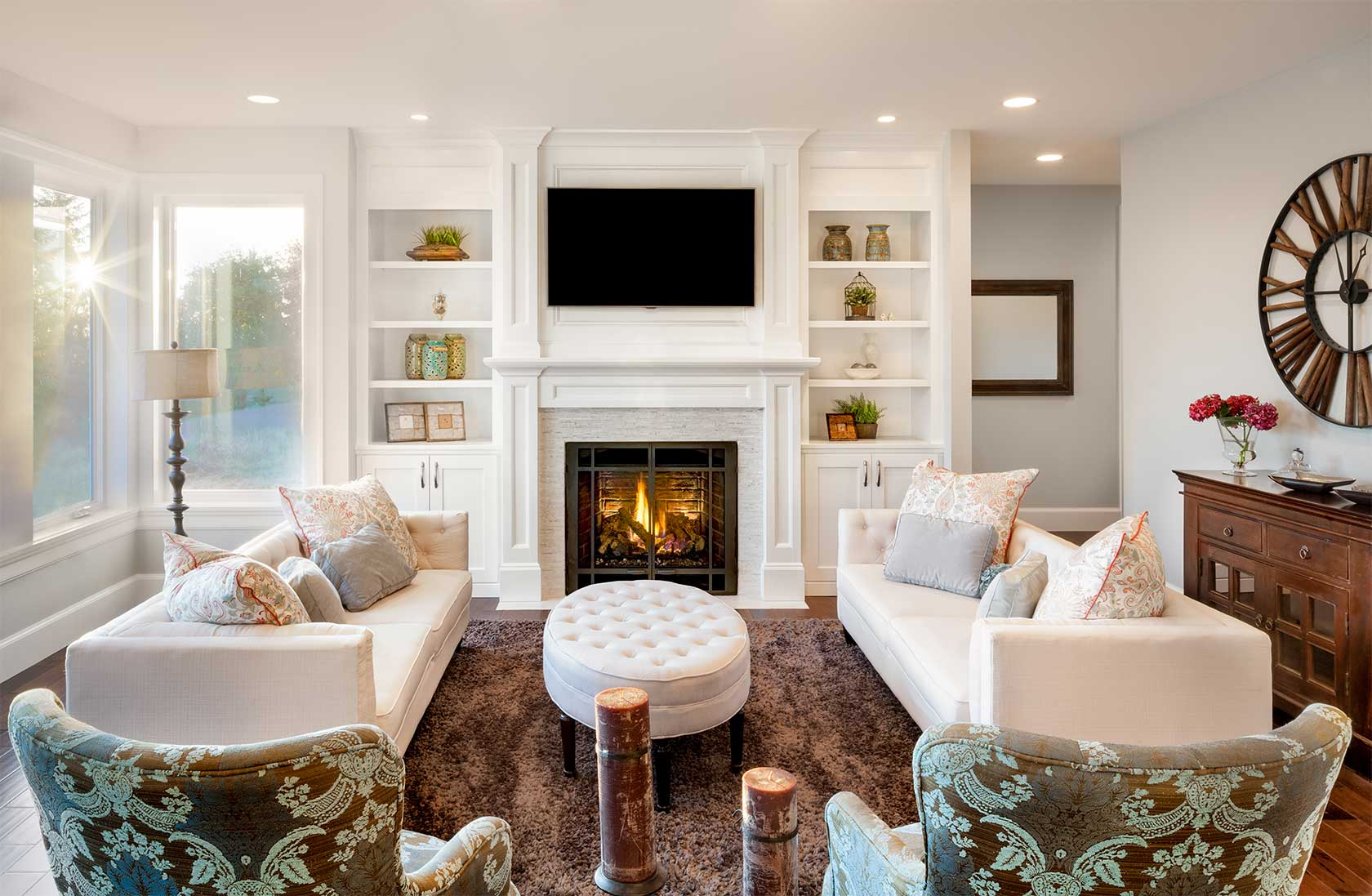 Living Room Heating System