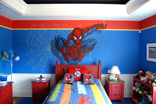 Superhero Bedroom Design