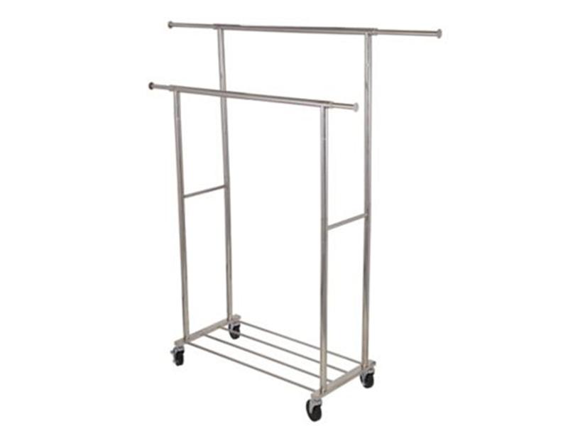 Wheeled Towel Stand