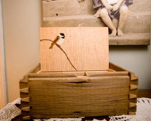 Barnwood Jewelry Box